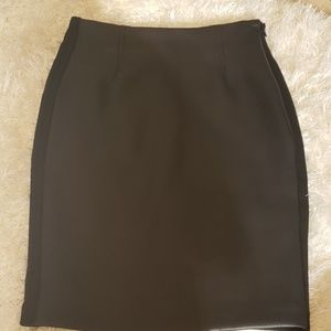 BarIII Black mid length skirt